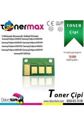 Toner Max® Samsung MLT-D203 / SL-M3820 / SL-M3870 / SL-M4020 / SL-M4070 Chip