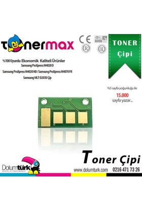 Toner Max® Samsung MLT-D203U / SL-M4020 / SL-M4070 Chipi