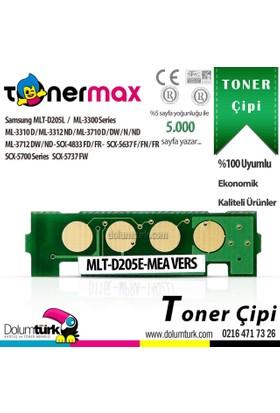 Toner Max® Samsung MLT-D205L / ML-3310 / ML-3312 / ML-3710 / SCX-4833 / SCX-5637 Chip 5K