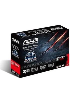 Asus R7240-2Gd3-L 2G 128B Ddr3 Vga Dvı Hdmı 16X