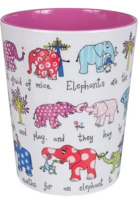 """Melamin Bardak """"Elephants"""""""