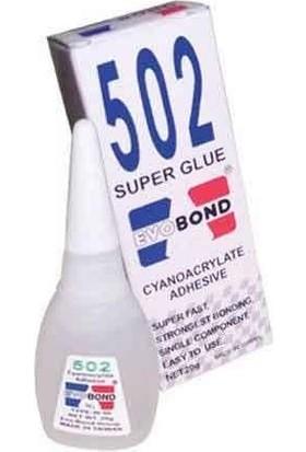 Evo Bond 502 Süper Yapıştırıcı 20 gr