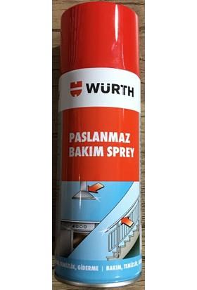 Pass Würth Paslanmaz Bakım Spreyi Krom - Ankastre Parlatıcı 400 ml Yeni