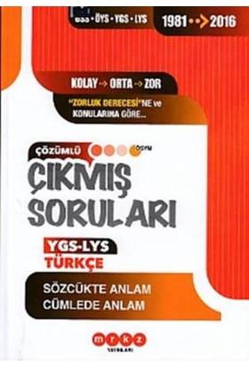 Merkez Yayınları Ygs Türkçe (Sözcükte Anlam-Cümlede Anlam)
