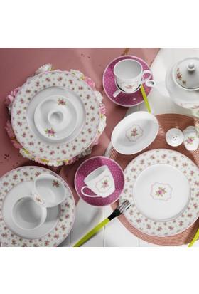 Kütahya Porselen 33 Parça 6 Kişilik Kahvaltı Takımı
