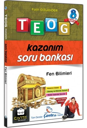 Çanta Yayınları-8.Sinif Fen Bilimleri Kazanim Soru Bankasi