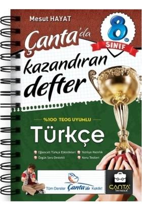 Çanta Yayınları-8.Sinif Türkçe Kazandiran Defter