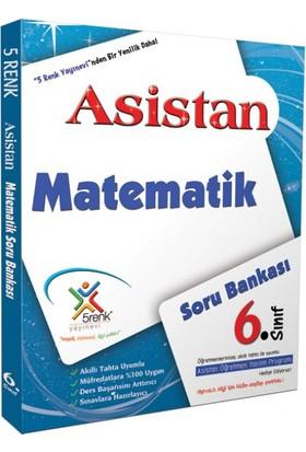 5 Renk Yayınları Matematik Soru Bankası 6. Sınıf