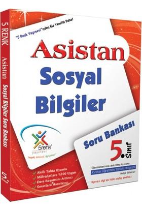 5 Renk Yayınları Sosyal Bilgiler Soru Bankası 5. Sınıf