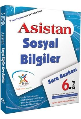 5 Renk Yayınları Sosyal Bilgiler Soru Bankası 6. Sınıf