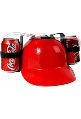 Derins Tasarım - İçecek Şapkası Kırmızı