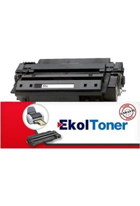 Ekoltoner Hp Q7551X Muadil Siyah Laser Toner