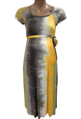Hell Klar Batik File Kombinli 4076 - Sarı