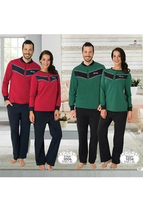 Mecit Bayan Spor Pijama Takım M-1034 - Yeşil