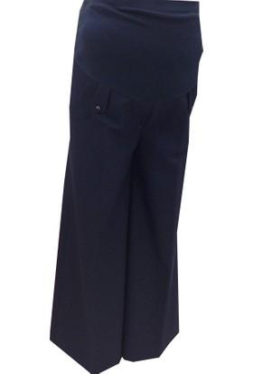 Sedef-Cadde Hamile Pantalon Etek 8008 - Lacivert