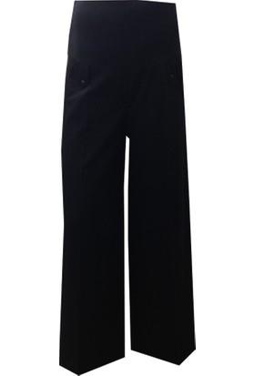 Sedef-Cadde Hamile Pantalon Etek 8008 - Siyah