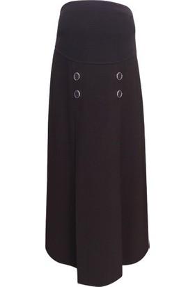 Trendy Uzun Etek 5555Trnd - Kahverengi