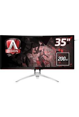 """AOC AGON AG352QCX 35"""" 200 Hz 4ms (Analog+DVI-D+HDMI+Display) FreeSync Full HD Oyuncu Monitörü"""