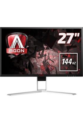 "AOC AGON AG271QX 27"" 144 Hz 1ms (Analog+DVI-D+HDMI+Display) FreeSync QHD Oyuncu Monitörü"