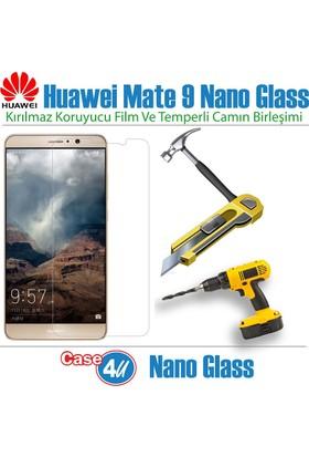 Case 4U Huawei Mate 9 Nano Cam / Nano Glass Kırılmaya Dayanıklı Ekran Koruyucu
