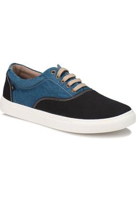 Kinetix Aston Siyah Mavi Erkek Ayakkabı