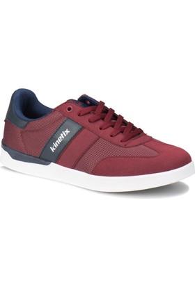 Kinetix Cabano Bordo Lacivert Erkek Sneaker