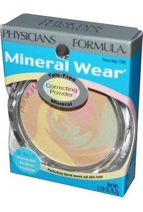 Physicians Formula Mineral Wear Correcting Powder Natural Beige Pudra 7309