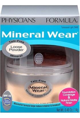 Physicians Formula Mineral Wear Mineral Toz Fondöten Light SPF16 2449