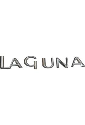 Renault Laguna İçin Krom Laguna Monogram Amblem Yazısı 7700827605