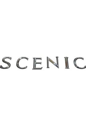Renault Scenic MK2 İçin Krom Scenic Monogram Amblem Yazısı 8200211785