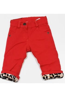 Lilitop Kokoş Bebek Nar Çiçeği Velsoftlu Pantolon