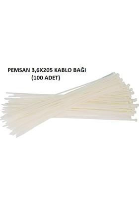 Pemsan 3,6X205 Kablo Bağı