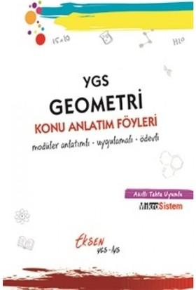 Eksen Yayıncılık Ygs Geometri Konu Anlatım Föyleri