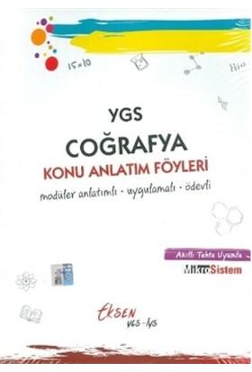 Eksen Yayıncılık Ygs Coğrafya Konu Anlatım Föyleri