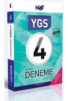 Not Yayınları Ygs 4 Fasikül Çözümlü Deneme Seti