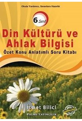 Palme Yayınları 6.Sınıf Din Kültürü Ve Ahlak Bilgisi Soru Bankası