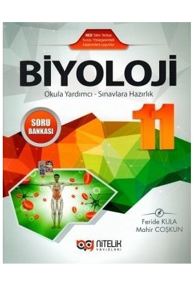 Nitelik Yayınları Yayınları 11. Sınıf Biyoloji Soru Bankası
