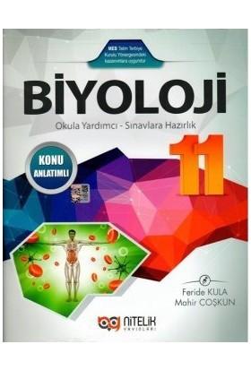 Nitelik Yayınları Yayınları 11. Sınıf Biyoloji Konu Anlatımlı