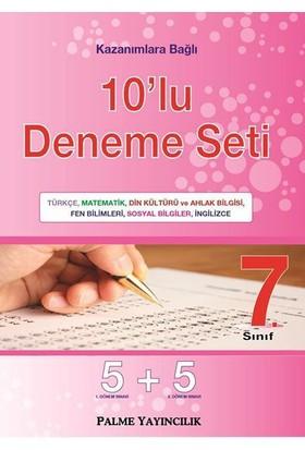 Palme Yayınları 7.Sınıf 10'Lu Deneme Seti