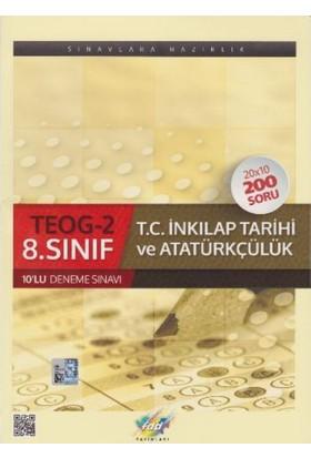 Fdd Yayınları 8. Sınıf T.C. İnkılap Tarihi Ve Atatürkçülük Teog-2 10 Lu Deneme Sınavı