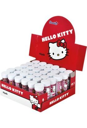 Tahtakale Toptancısı Hello Kitty Temalı Köpüklü Üflemeli Baloncuk (5 Adet)
