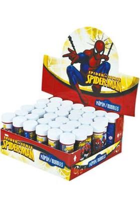 Tahtakale Toptancısı Spiderman Temalı Köpüklü Üflemeli Baloncuk (5 Adet)