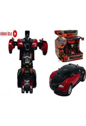 Kkd Transformers Robot Araba Çek Bırak Oyuncaklar - Robota Dönüşen Araba