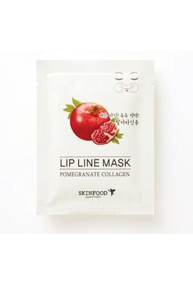Skinfood Pomegranate Kalojen Kırışıklık Azaltıcı Yüz Maskesi (Gülüş Çizgisi Kırışıklığını Azaltır) 3.5g