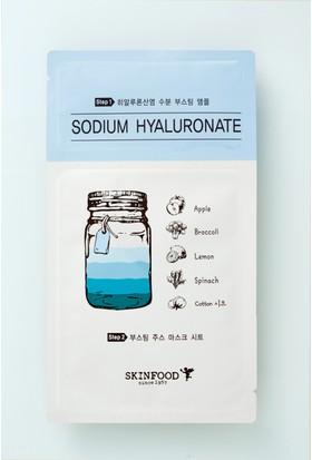 Skinfood Boosting Juice 2 Parçalı Tek Kullanımlık Yüz Maskesi (Sodyum Hyaluronat) 2.5ml+23ml