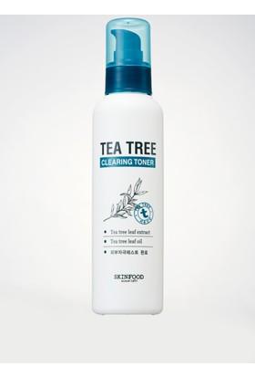 Skinfood Tea Tree Hassas / Tahriş Olmuş Ciltlere Özel Temizleyici Toner 150ml