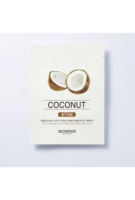 Skinfood Beauty in a Food Tek Kullanımlık Yüz Maskesi (Hindistancevizi) 18ml