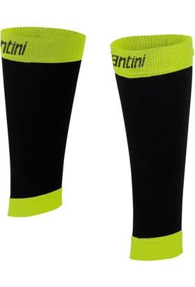 Santini Çorap Kalf Koruyucu Siyah-Sarı