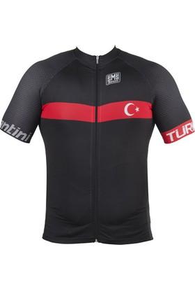Santini Forma Türkiye Kısa Kol Siyah