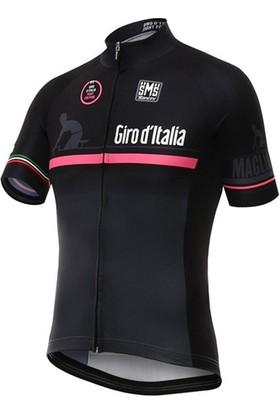 Santini Forma Giro D'Italia Maglia Nero Siyah Xs